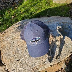 Patagonia Bison trucker hat.